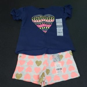 NWT Carter's Baby Girl outfit.